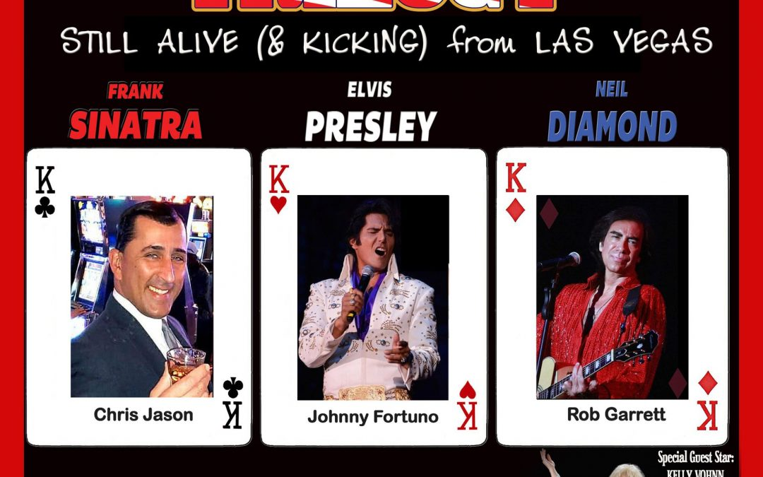 AMERICAN TRILOGY in Las Vegas July 2nd, 3rd, and 4th
